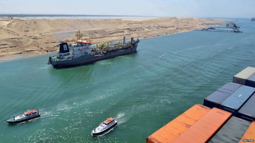 Egypt launches Suez Canal expansion