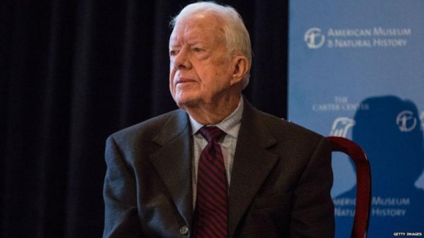 Jimmy Carter, former US president, reveals he has cancer