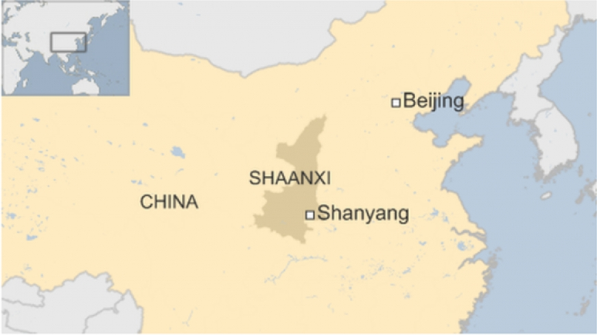 Dozens missing after landslide in Shaanxi, China