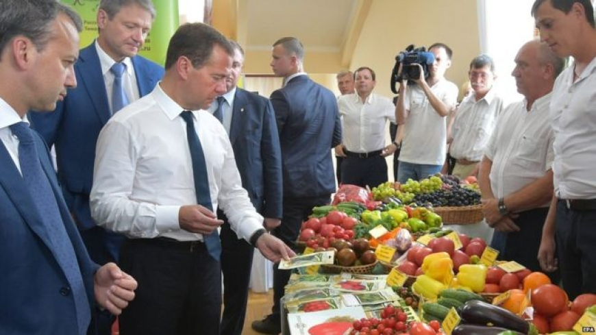 Russia adds countries to food import ban over sanctions